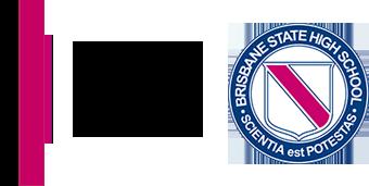 Brisbane State High School print logo